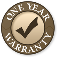 one year warranty for stove and cooktop repair services 77068